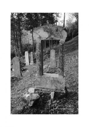 Lúky - židovský cintorín